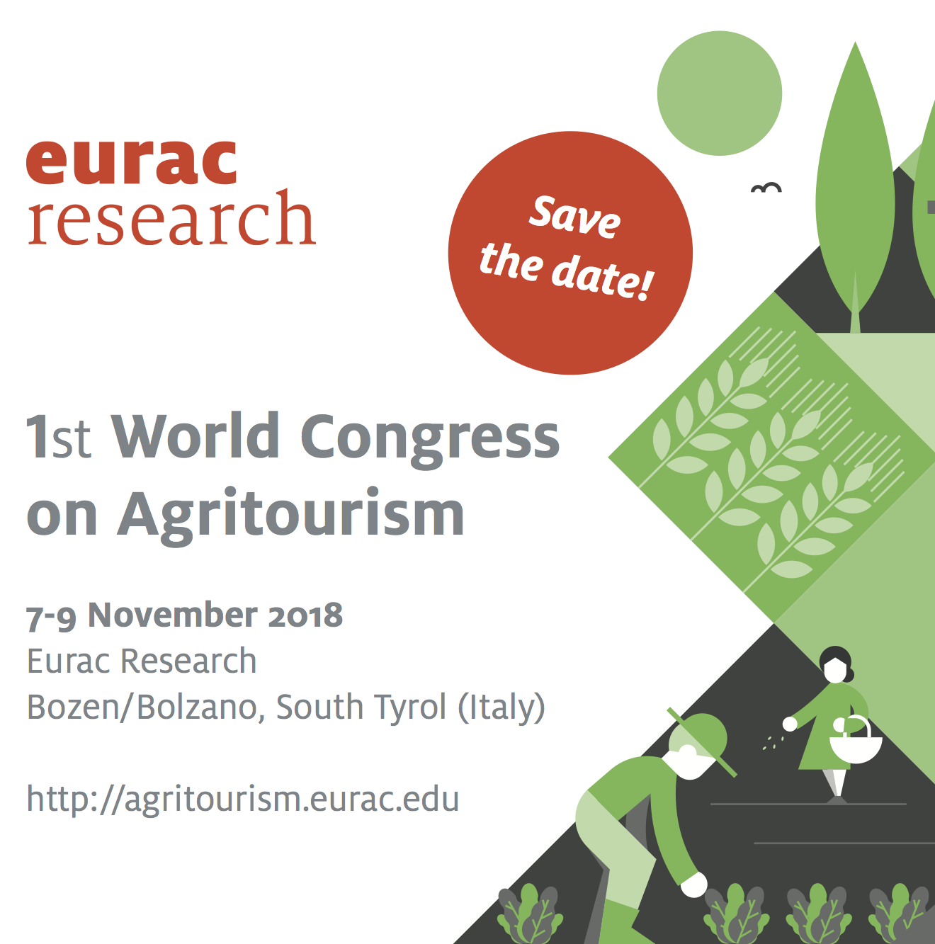 1st World Agritourism Congress - Save The Date