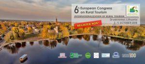 6th European Congress on Rural Tourism @ Druskininkai, Lithuania