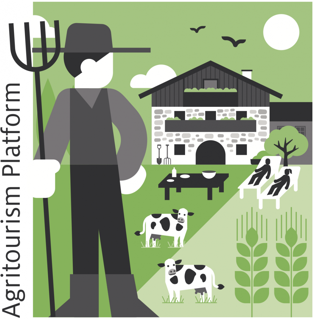 World Agritourism Platform Logo web sq color