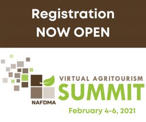 NAFDMA's 2021 Virtual Agritourism Summit @ online